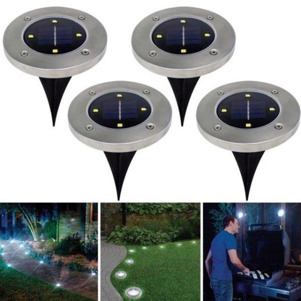 Vanjsko osvjetljenje disk 8-LED verzija ( 4 komada )